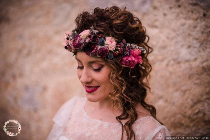 2 styles - 1 mariée : La coiffure 2