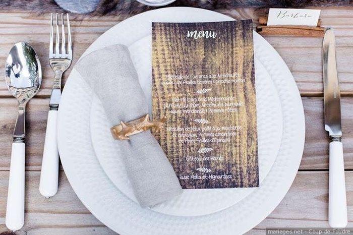 Quel sera le menu de ton mariage ? 🍽 1