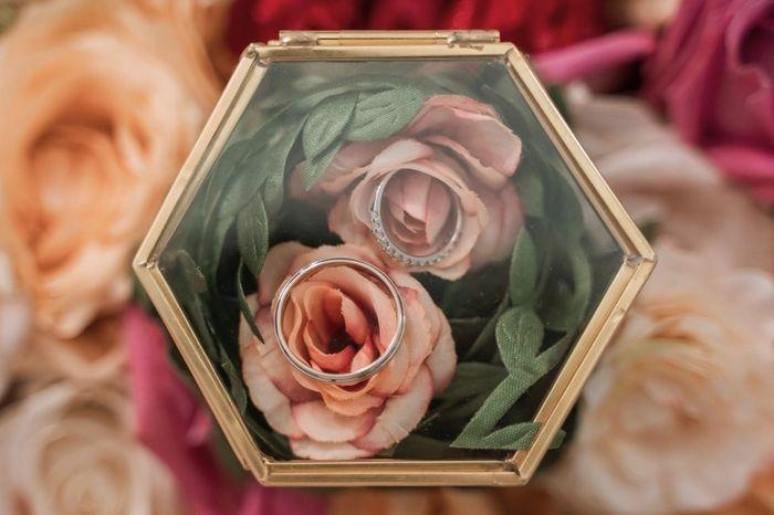 Ton porte alliance fleuri  🍀 1