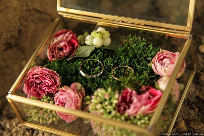 Ton porte alliance fleuri  🍀 2