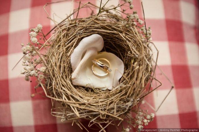 Ton porte alliance fleuri  🍀 3