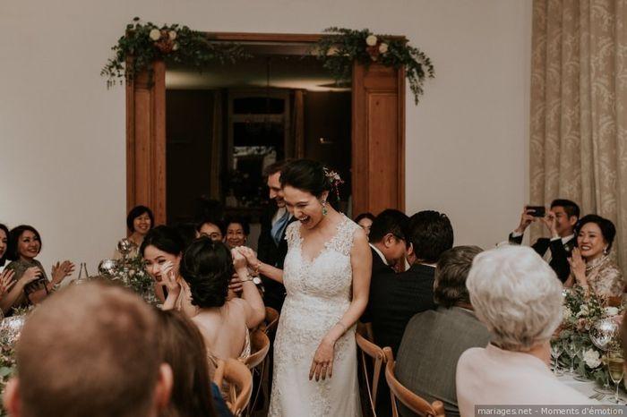 L'entrée des mariés  👫 1