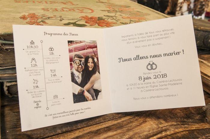 Un mariage avec style : Les invitations  💌 3