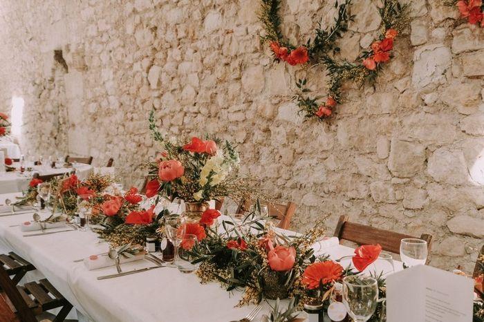 Mariage avec style ... Les fleurs  💐 3