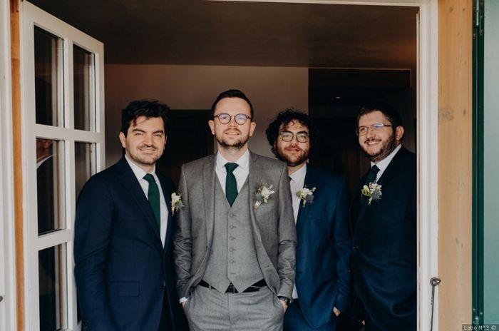 Les Best Men de votre moitié 🕴️ 1