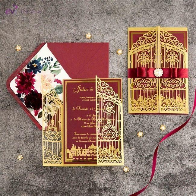 4 options  : Les invitations ! 2