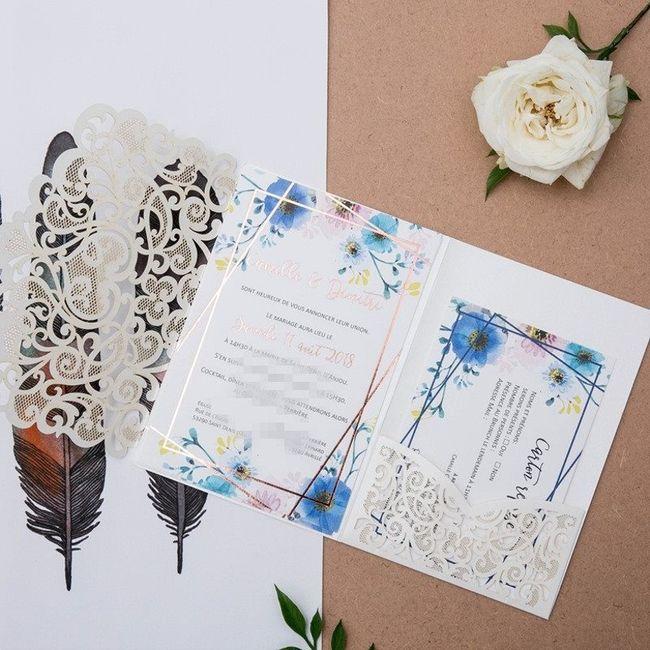 4 options  : Les invitations ! 3