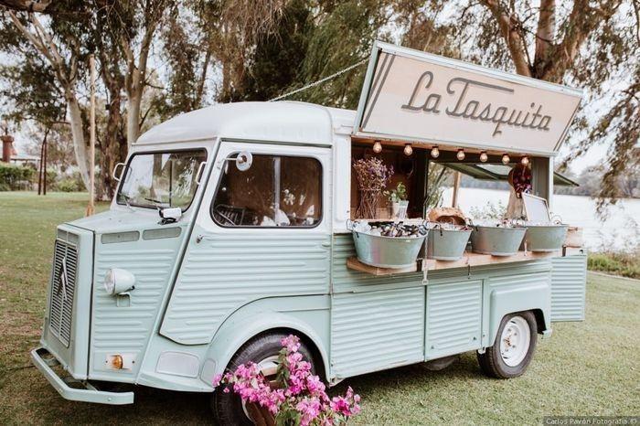 4 options : Le food truck ! 2