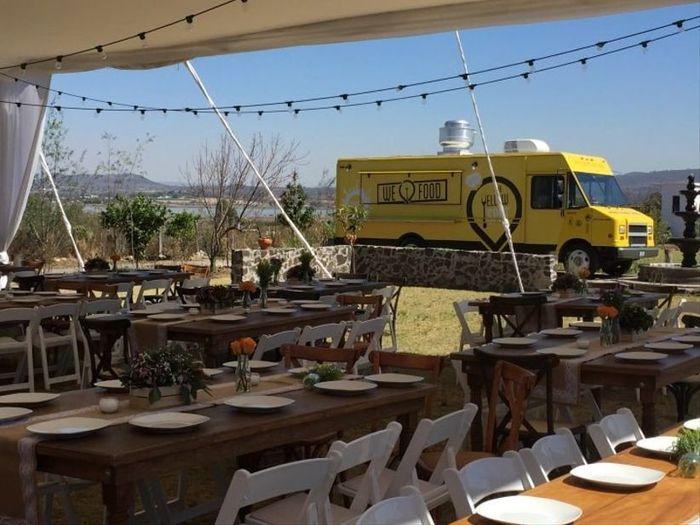 4 options : Le food truck ! 5
