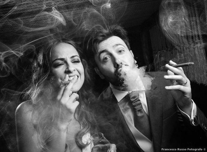 Tu fumeras à ton mariage ? 1