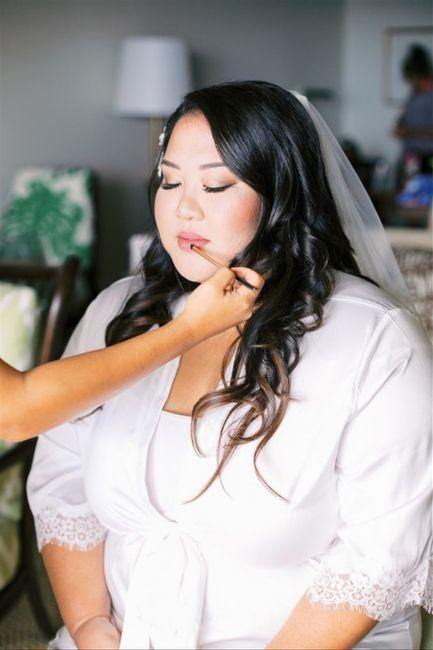 Inspectrice nuptiale : Le rouge à lèvres 1