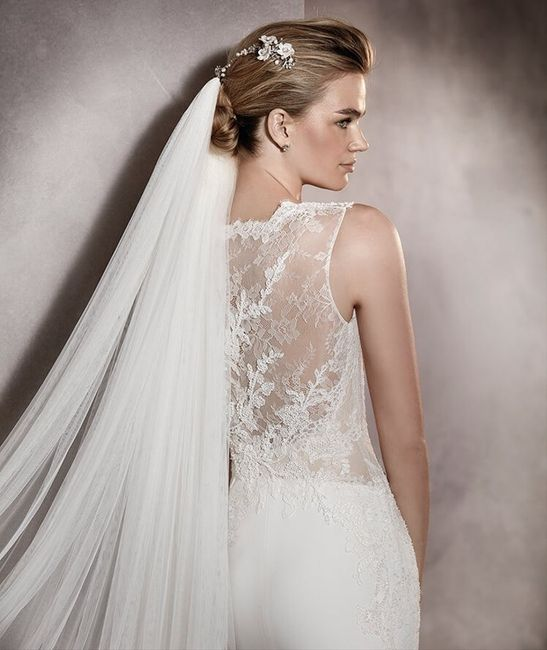 Inspectrice nuptiale : Le voile 1