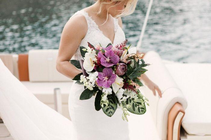 Inspectrice nuptiale : Le bouquet de fleurs 1