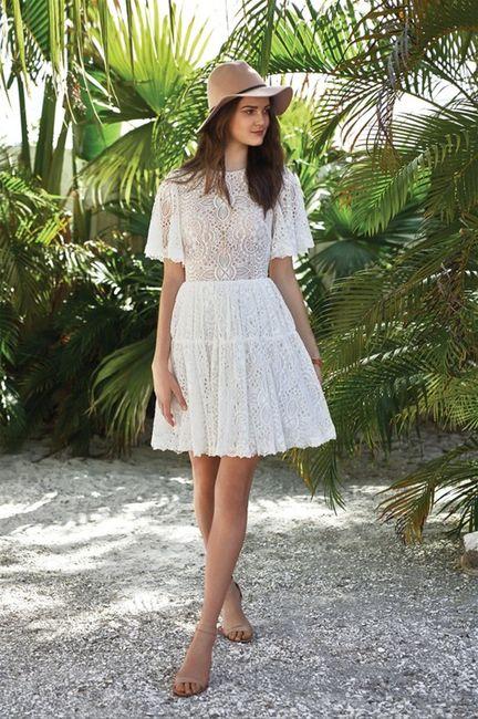 8 robes courtes pour ton mariage ! 8