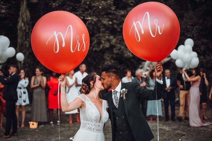 Tu imaginais te marier avec ta moitié quand vous vous êtes rencontré.es ? 🙊 1