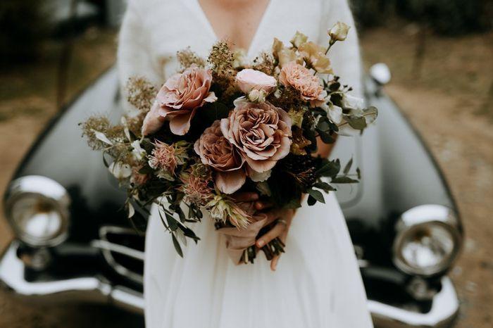 Couleur taupe pour ton bouquet de fleurs ? 1