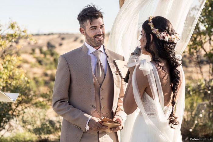 💓Mention j'aime : Le sourire du marié 2