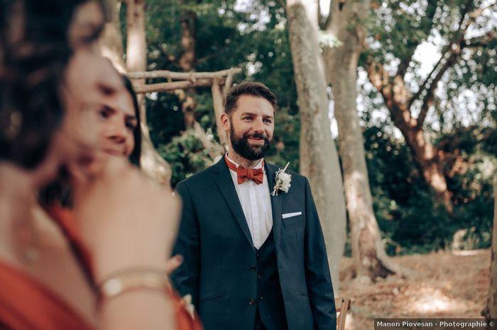 💓Mention j'aime : Le sourire du marié 3