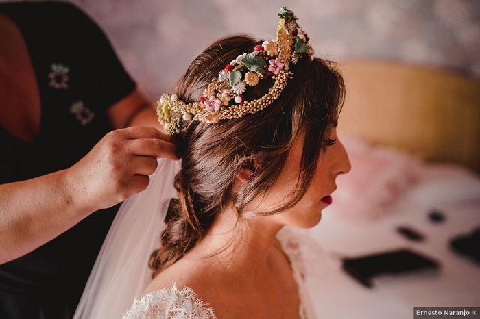 Tu pourrais porter cette coiffure pour ton mariage ? 1