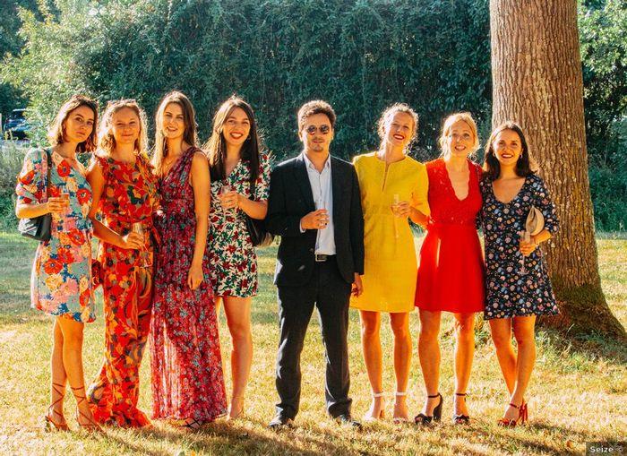 Quel look d'invitées pour un mariage à l'air libre ? 2
