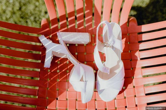 Si cette paire de chaussures sonne à ta porte ? Tu les mettrais le jour J ? 1