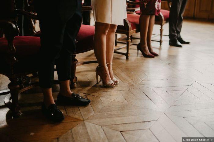Mariage civil : Avec ou sans talon ? 1