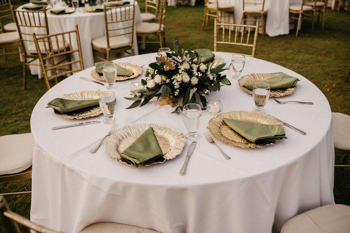 Vos tables seront rondes ? Voici des inspirations pour votre réception ✨ 1
