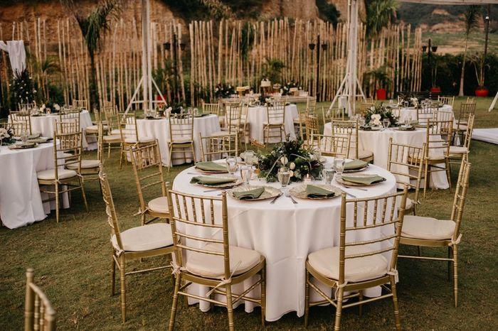 Vos tables seront rondes ? Voici des inspirations pour votre réception ✨ 4