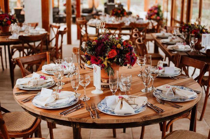 Vos tables seront rondes ? Voici des inspirations pour votre réception ✨ 5