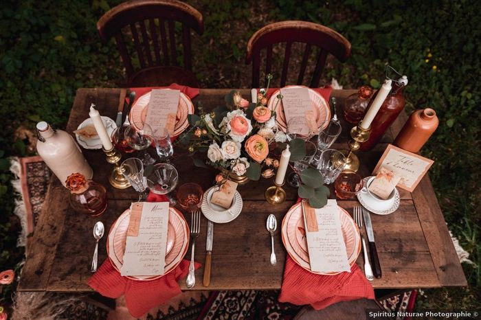 Plus ou moins pour cette table des marié.es ? 👍👎 1