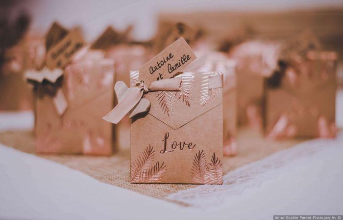 À quel moment donneras-tu les cadeaux à tes invités ? 2