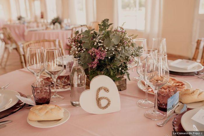Tu auras des numéros sur tes tables ? 1