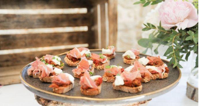 4 idées d'entrées - plats pour un mariage 🍽️ 1