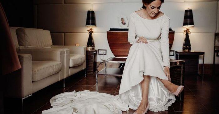 Les différentes robes de mariées avec traîne 👰 1