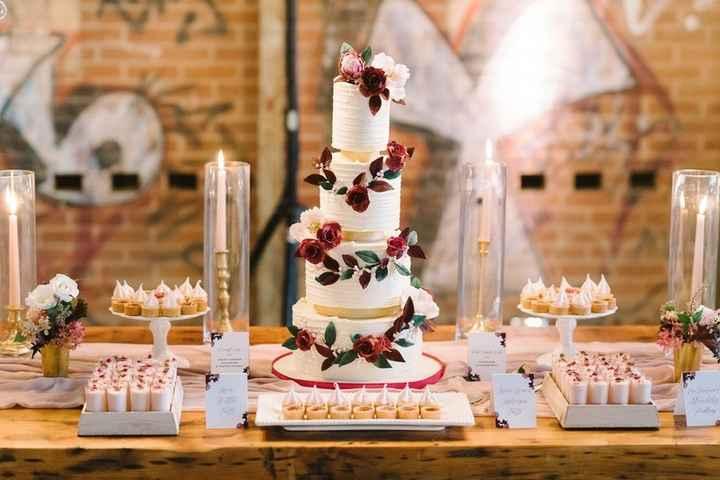 8 tables pour votre weddind cake ! - 2