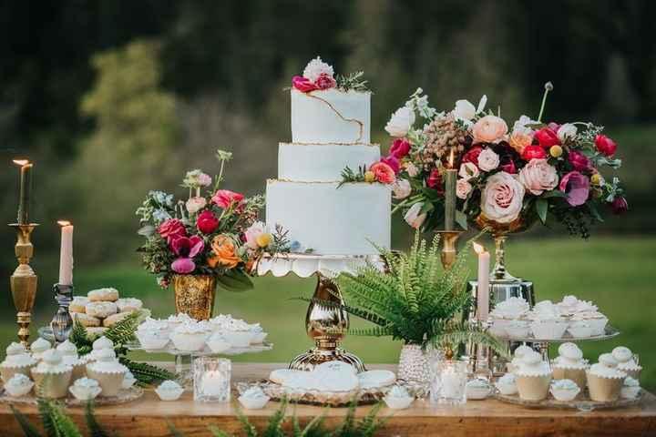 8 tables pour votre weddind cake ! - 5