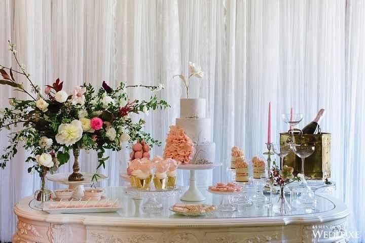 8 tables pour votre weddind cake ! - 7