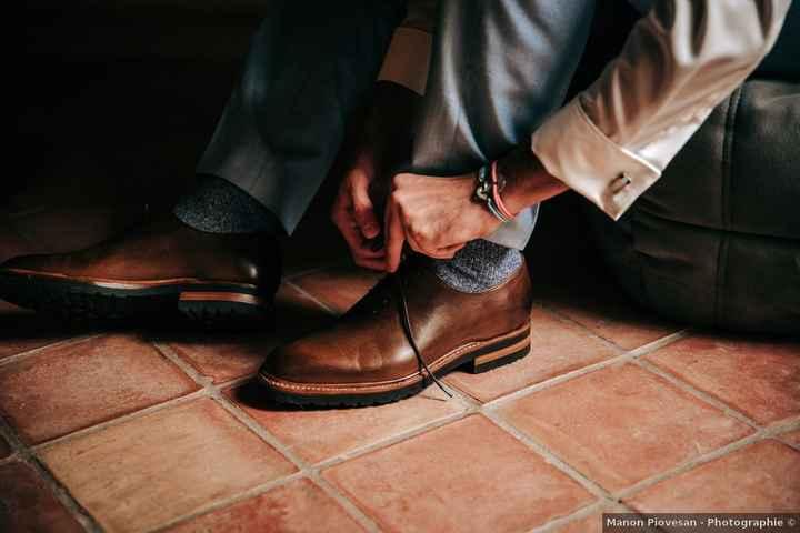 Marié : chaussures en boutique ou sur internet ? - 1