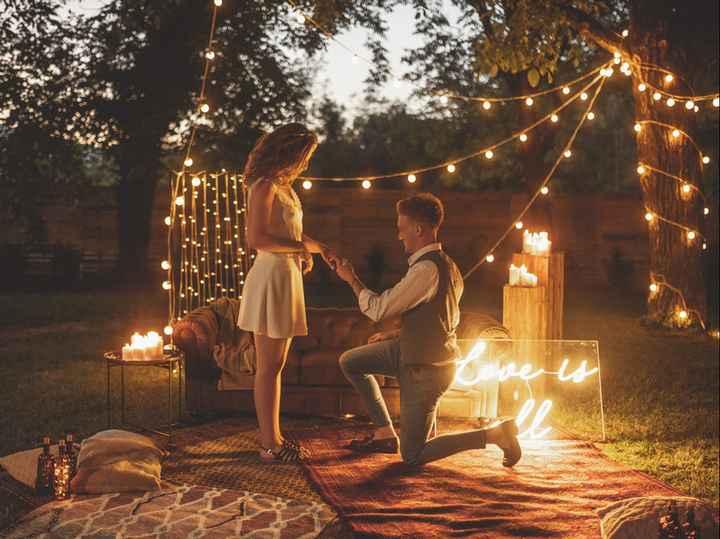 ✨Une demande en mariage à mon mariage, quelle est ma réaction ? - 1