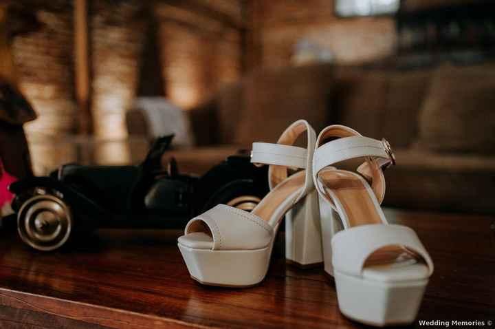 ✨Tes chaussures ne sont disponibles 15 jours avant le mariage... - 1