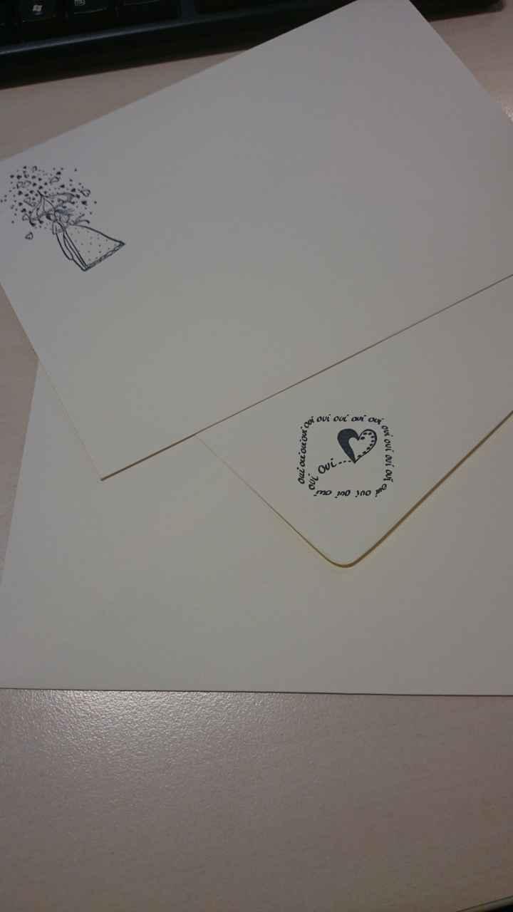 Personnalisation de nos enveloppes
