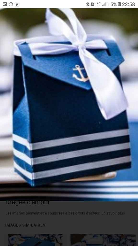Thème mer bleu blanc - 1