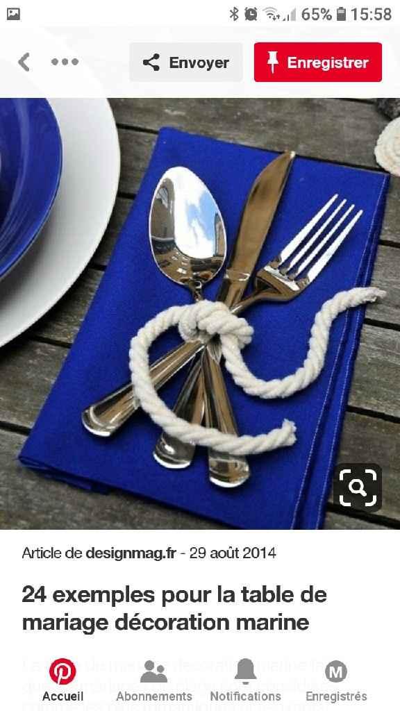Thème mer bleu blanc - 3