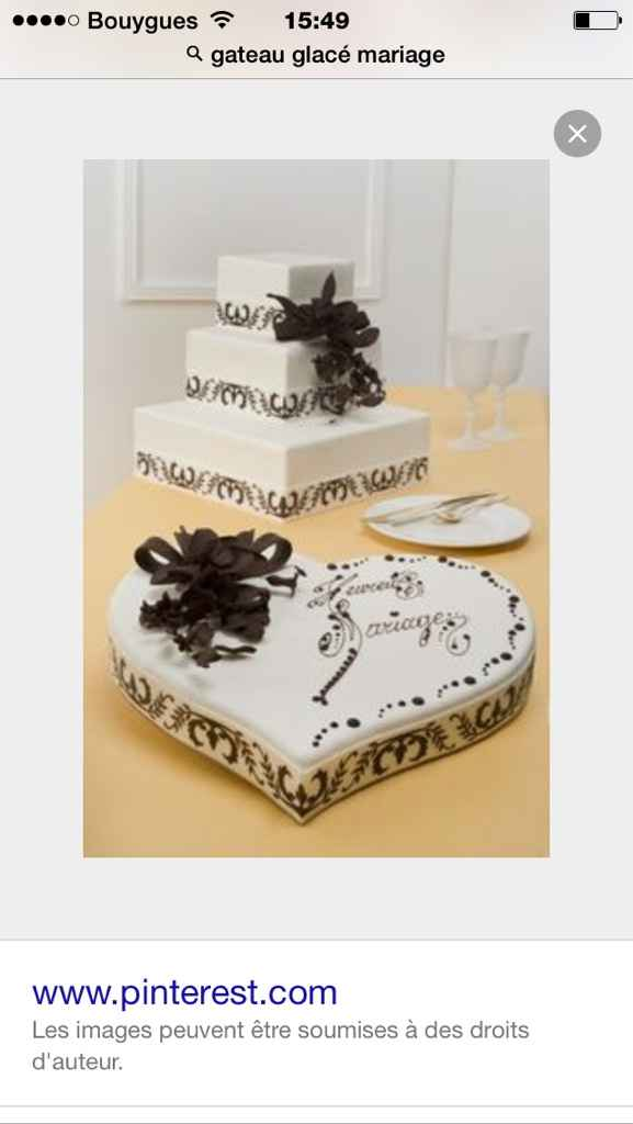 Gâteau en glace - 1