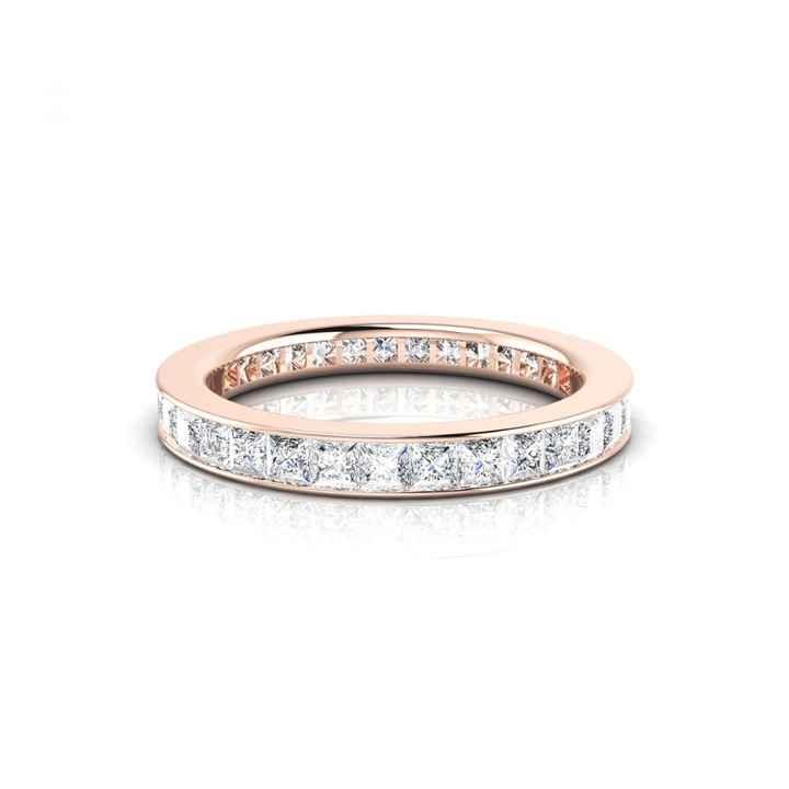 Bague Conquise or rose et diamants