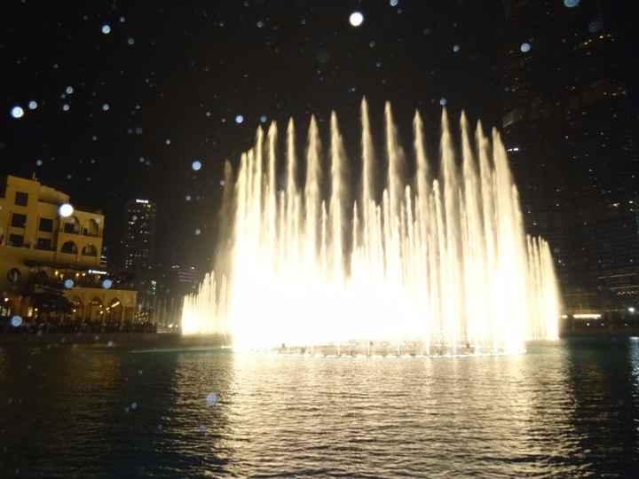 The Dubaï Fountain