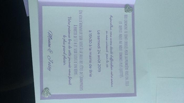Nous nous marions le 24 Août 2019 - Charente - 1