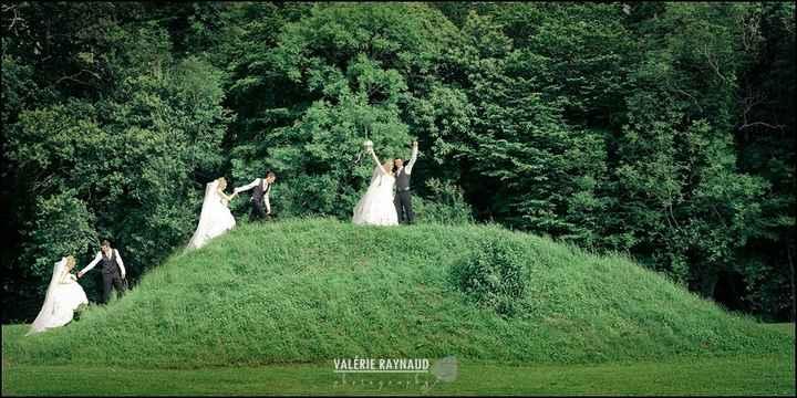 Des superbes mariés!