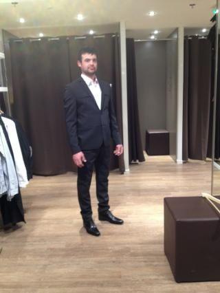 Le costume de monsieur  - 1