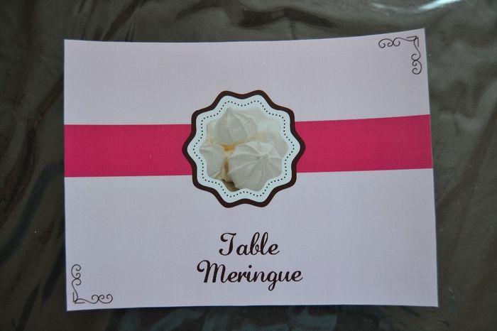 table meringue
